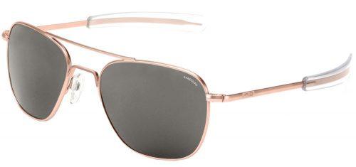 lunettes randolph noir et rose