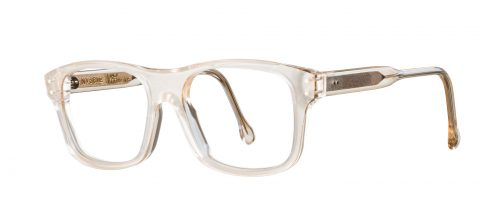 lunettes blanches vinylize