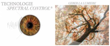 lunettes de soleil Seregenti : spectral control