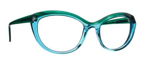 lunettes caroline abram bleu