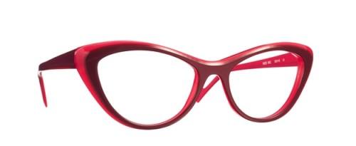 lunettes caroline abram rouges