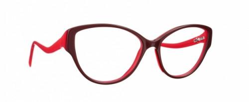 lunettes caroline abram rouge